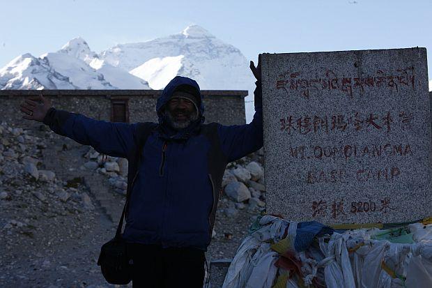 Тибет. Базовый лагерь Эвереста.