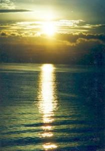 первый восход солнца